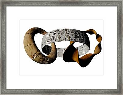 Join Circles Framed Print by R Muirhead Art