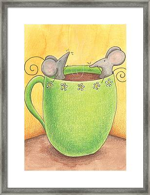 Join Me In A Cup Of Coffee Framed Print