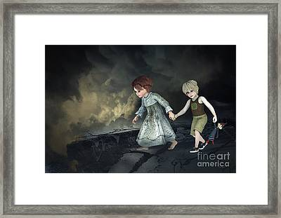 Join Me Framed Print by Jutta Maria Pusl