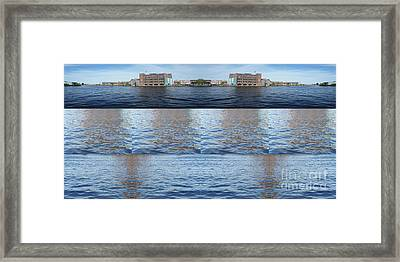 Joiner Sea Framed Print