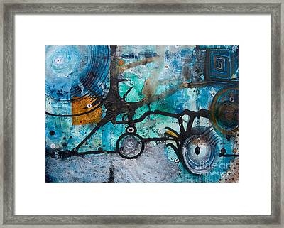 Joining The Dots Framed Print by Jay Taylor