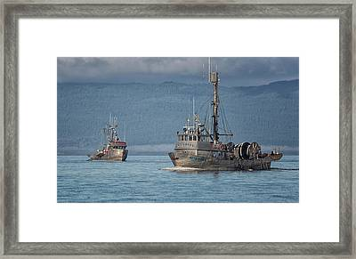 Joining The Party Framed Print