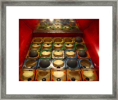 Joker Wild Framed Print by Colleen Kammerer
