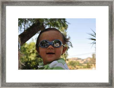 Joliet Jake E Blues As A Baby Framed Print