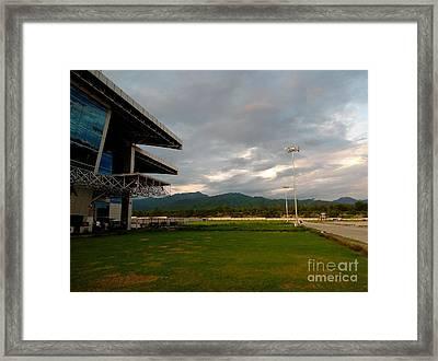 Jolly Grant Airport  Framed Print by Padamvir Singh