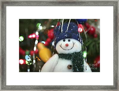 Jolly Framed Print by Jeannie Burleson