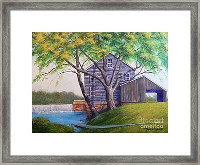Jolly Mill Framed Print