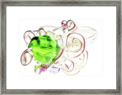 Jolly Rancher Framed Print by Molly McPherson