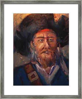Jolly Roger Framed Print by R W Goetting