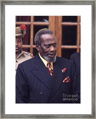 Jomo Kenyatta Framed Print