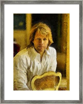 Jon Bon Jovi Framed Print
