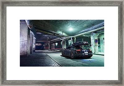 Jon Olsson Audi R8 2  Framed Print