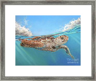 Jonah Framed Print by Deb LaFogg-Docherty