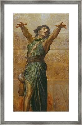 Jonah Framed Print