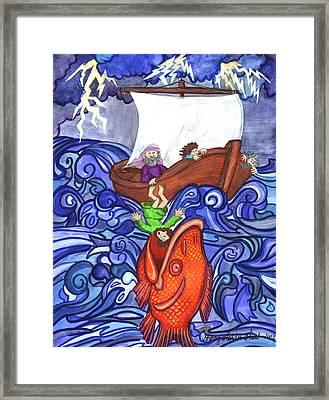 Jonah Framed Print by Sherry Holder Hunt