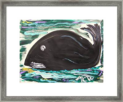Jonahs Friend Framed Print by Mary Carol Williams
