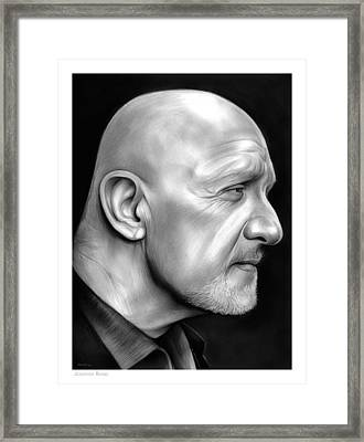 Jonathan Banks Framed Print