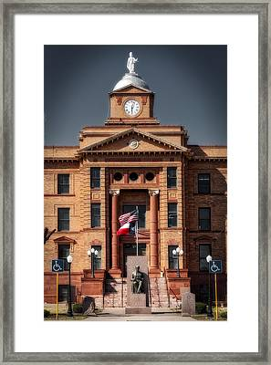 Jones County Courthouse Framed Print by Mountain Dreams