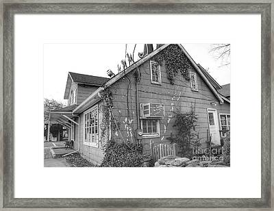 Jones Hardware From Behind, Pequannock Framed Print