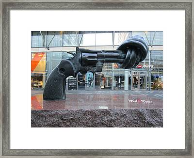 Jones Framed Print by Rosita Larsson