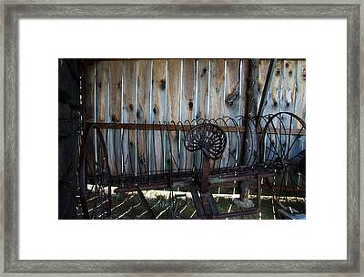 Framed Print featuring the photograph Jones Seat by Joanne Coyle