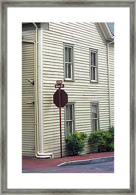Jonesborough Tennessee - First And Main Framed Print by Frank Romeo