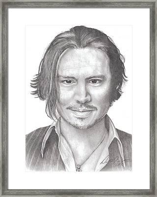 Jonny Framed Print by Dustin Knighton