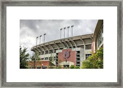Jordan Hare Stadium Framed Print by JC Findley