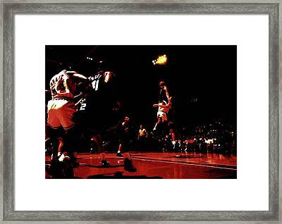 Jordan Kill Shot Framed Print