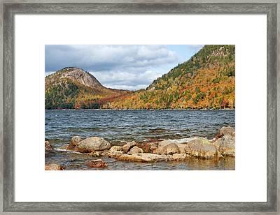 Jordan Pond - Acadia National Park Framed Print