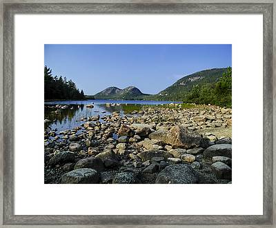 Jordan Pond No.1 Framed Print