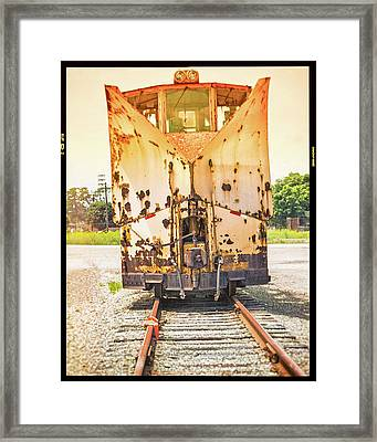 Jordan Spreader  Framed Print by Eclectic Art Photos