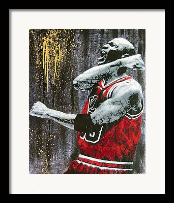 Basketball Framed Prints