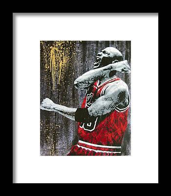 Basketball Framed Prints