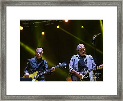 Jorma And Jack Celebrate 50 Years Of Jefferson Airplane With Jack  Framed Print