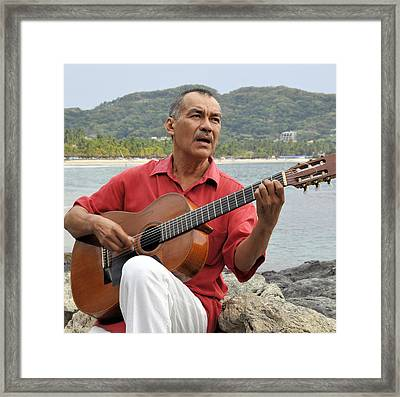 Jose Luis Cobo Framed Print by Jim Walls PhotoArtist
