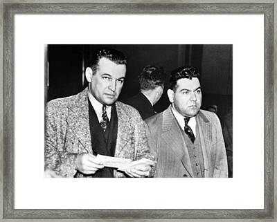 Joseph Accurso Right Of Cleveland Framed Print by Everett