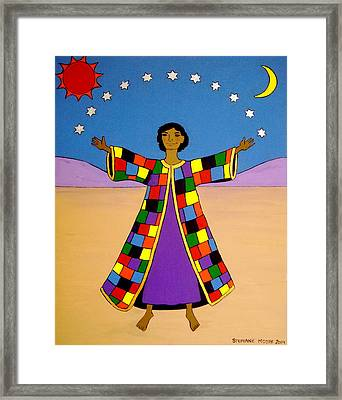 Joseph And His Coat Of Many Colours Framed Print
