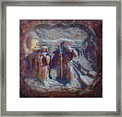 Joseph And Mary1 Framed Print