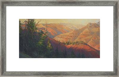 Joseph Canyon Framed Print