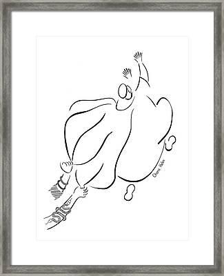 Joseph Framed Print by Chana Helen Rosenberg