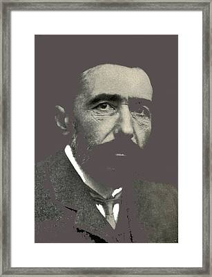 Joseph Conrad George Charles Beresford Photo 1904-2015 Framed Print by David Lee Guss