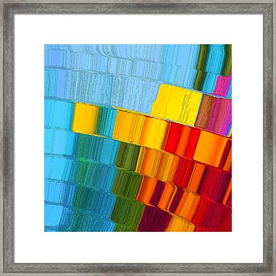 Joseph Quilt Framed Print by Adria Trail