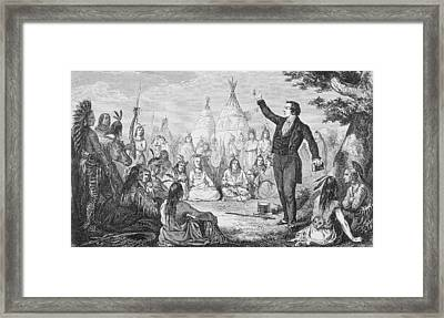 Joseph Smith 1805 To 1844 Founder Of Framed Print by Vintage Design Pics