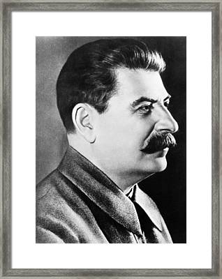 Joseph Stalin, Secretary-general Framed Print by Everett