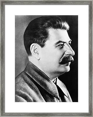 Joseph Stalin, Secretary-general Framed Print by Everett