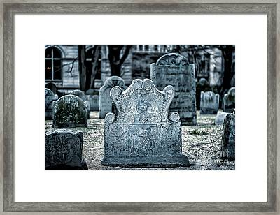 Joseph Tapping Framed Print by Tamyra Ayles