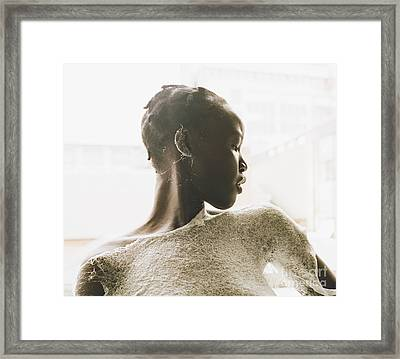 Framed Print featuring the photograph Josephine by Rebecca Harman