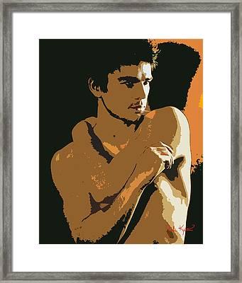 Josh Hartnett Framed Print by John Keaton