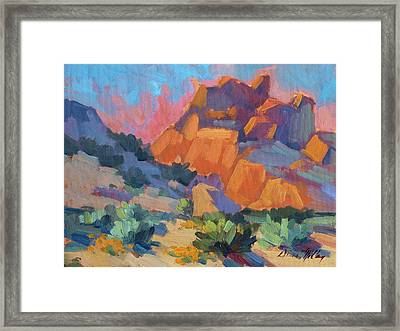 Joshua Afternoon Framed Print by Diane McClary